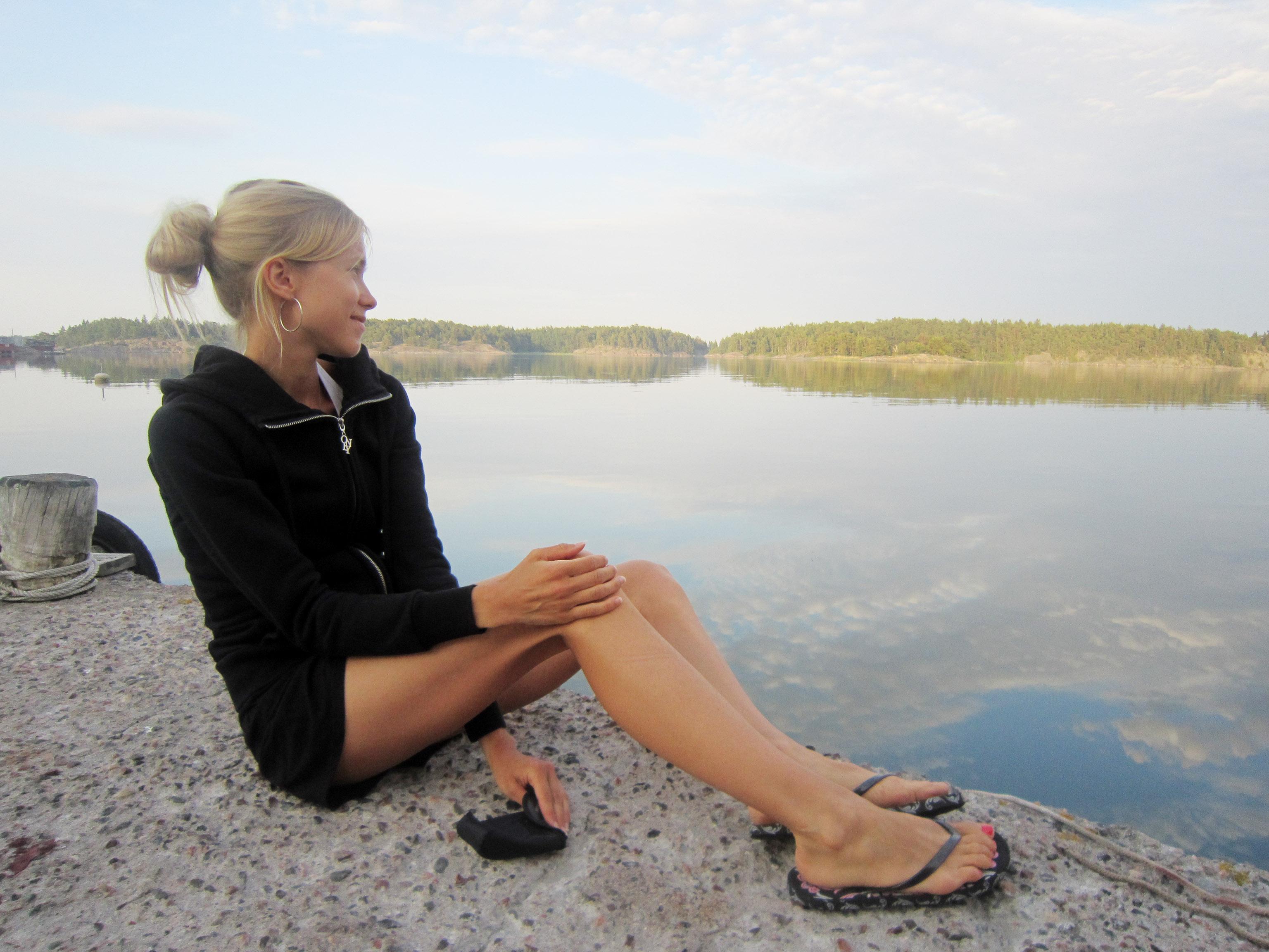 Jessica Brander kuvailee kaunistelematta ja suorasukaisesti syömishäiriöstään. Yle Kuvapalvelu